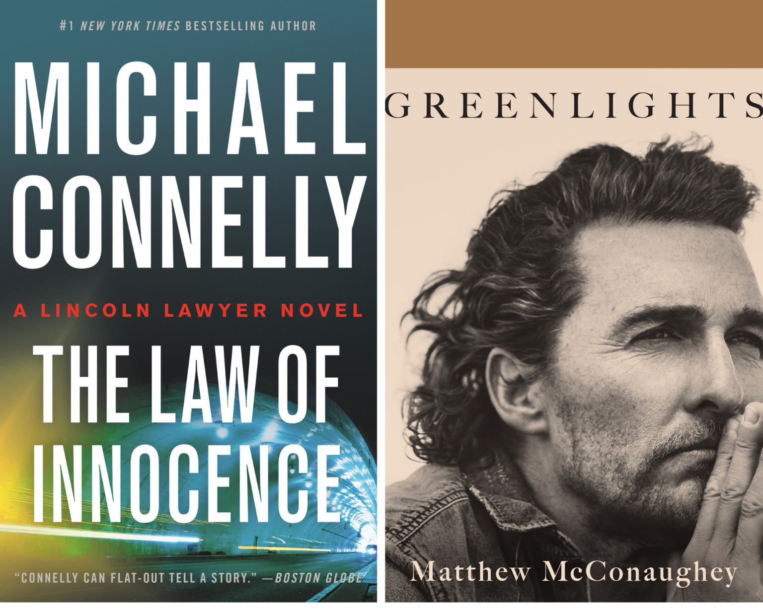 VIRTUAL BOOK: WRITERS BLOC TALK: WRITERS BLOC PRESENTS MICHAEL CONNELLY PRESENTS AND MATTHEW MCCONAUGHEY. OUR LINCOLN LAWYER IS BACK