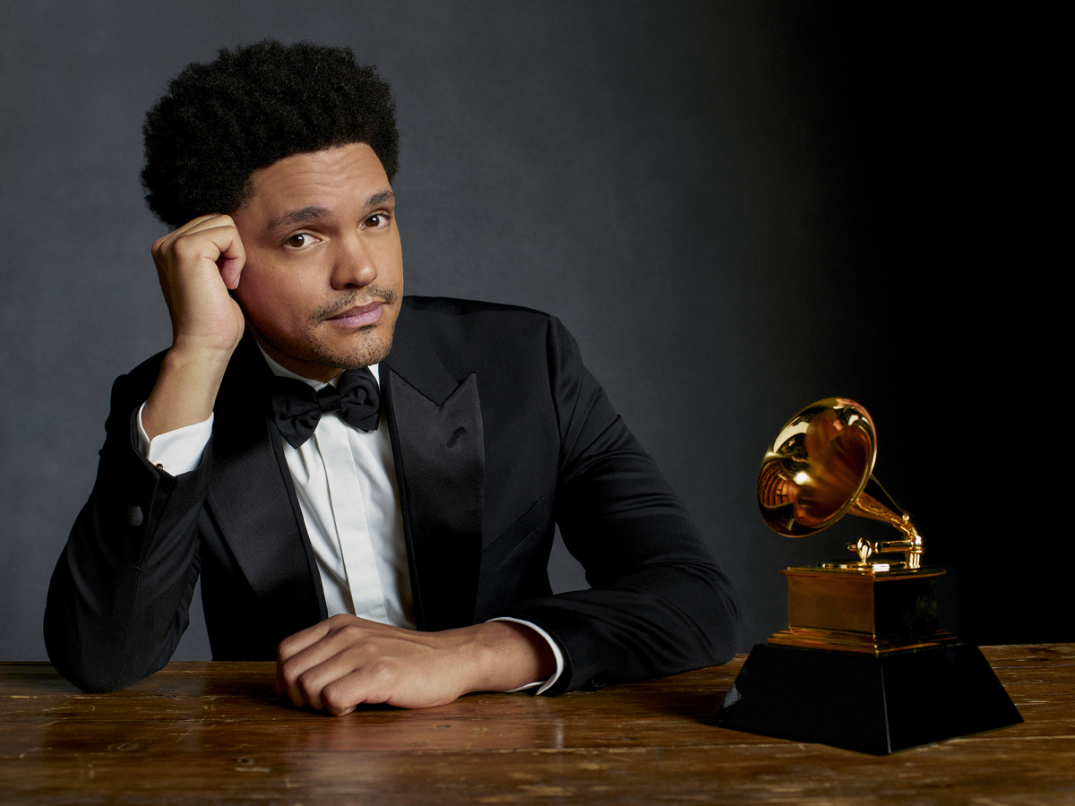 COMEDIAN TREVOR NOAH TO HOST THE 63RD ANNUAL GRAMMY AWARDS