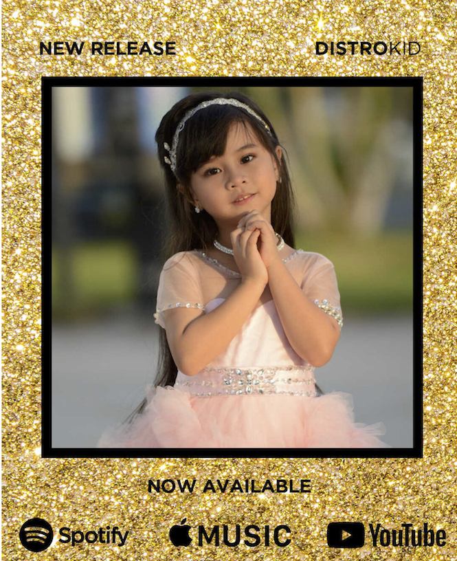 """7-YEAR-OLD SINGER/SONGWRITER KYRA PESEBRE RELEASES  """"I LOVE YOU, DAD"""" IN TIME FOR FATHER'S DAY"""